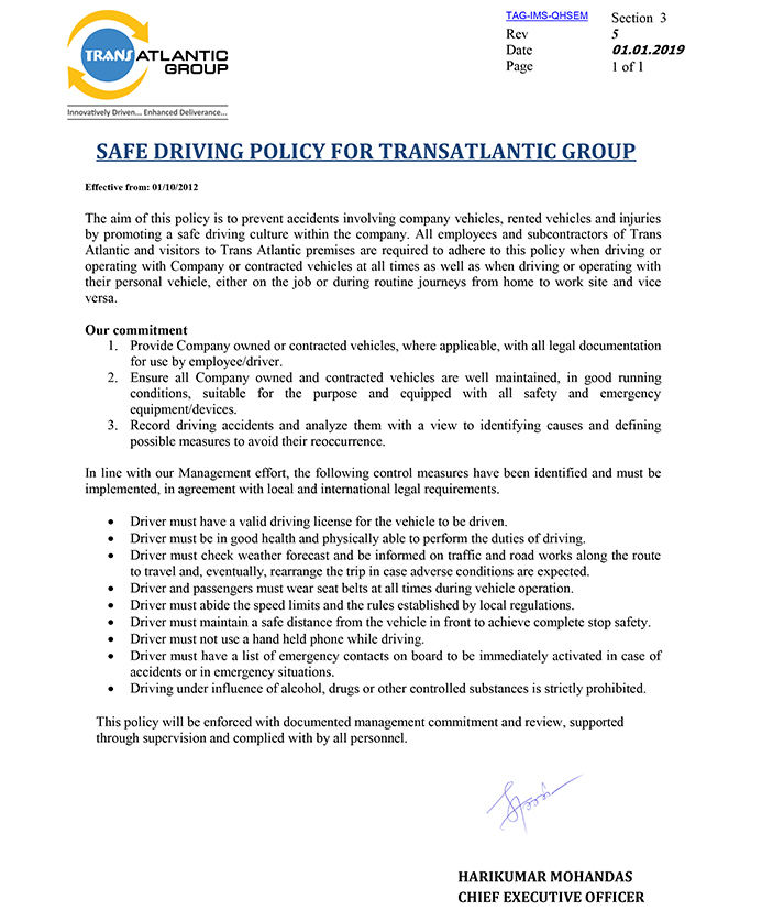 Trans Atlantic Group - an ISO Certified Company - CIVIL
